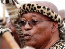 Jacob Zuma (file image)