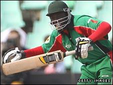 Kenya batsman David Obuya