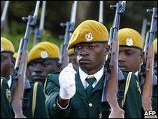 Zimbabwe troops