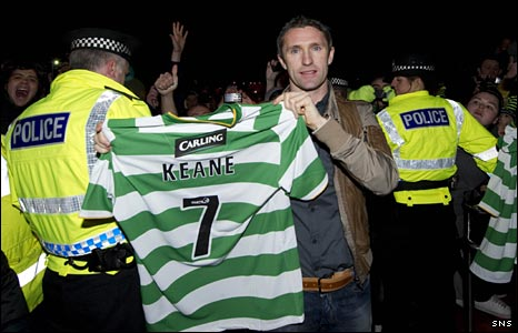 Robbie Keane leaves Spurs: I always wanted to play for Celtic (video)