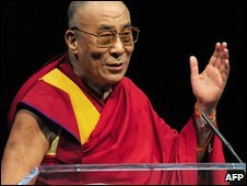 Dalai Lama in Washington DC (October 2009)