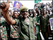 Sudanese troops, file image