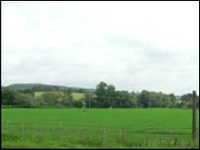 The battleground at Mortimer's Cross as it looks today