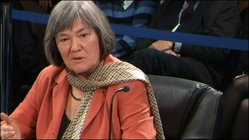 Clare Short at the Iraq inquiry