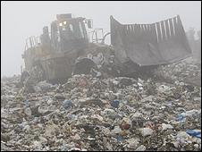 Landfill site (Image: AP)