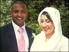 Muslim couple Riaz and Saila Choudary