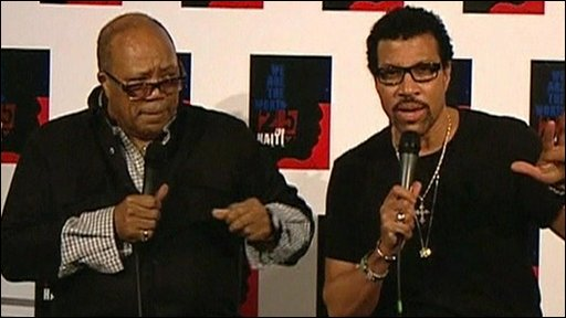 Quincy Jones and Lionel Richie