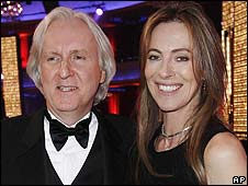 James Cameron and Kathryn Bigelow