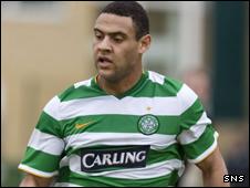 Celtic striker Ben Hutchinson