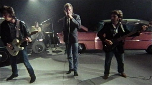 The band Dr Feelgood performing