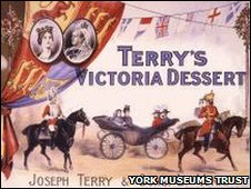 Terry's packaging - York Castle Museum. Copyright York Museums Trust
