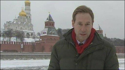 BBC correspondent Richard Galpin