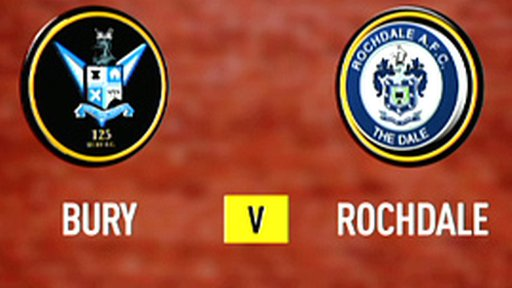 Bury 1-0 Rochdale