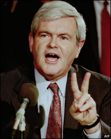 Newt Gingrich in 1995
