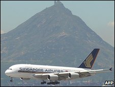 Singapore Airlines' Airbus A380