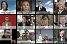 French presidential hopefuls 2007