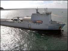 RFA Largs Bay