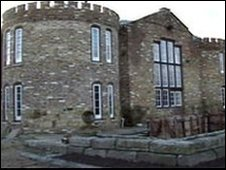Mr Fidler's castle in Surrey