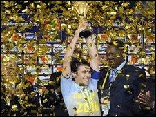 Egypt captain Ahmed Hassan