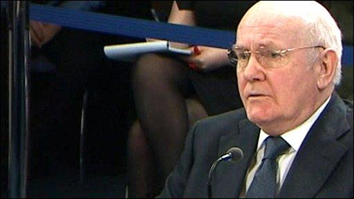 Former Defence Secretary John Reid