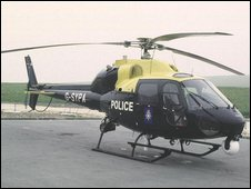 A police helicopter (generic)