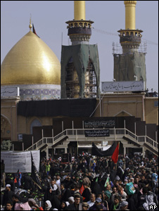 Imam Hussein shrine Karbala 3 February