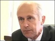Health Minister Eddie Teare