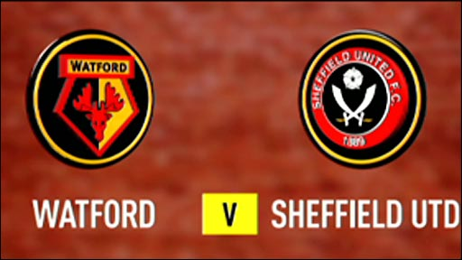 Watford 3-0 Sheffield United