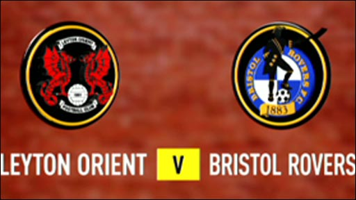 Leyton Orient 5-0 Bristol Rovers