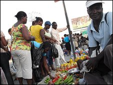 Market in Port-au-Prince
