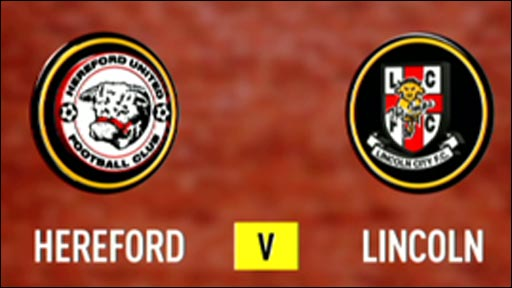 Hereford 2-0 Lincoln