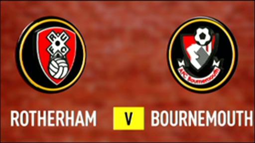 Rotherham 1-3 Bournemouth