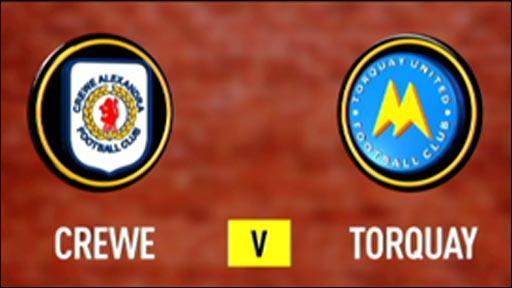 Crewe 1-1 Torquay