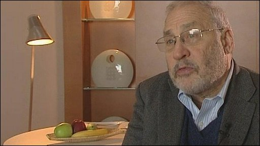 American economist Joseph Stiglitz