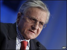 President of the European Central Bank Jean Claude Trichet