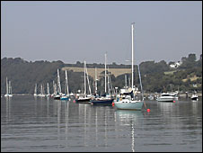 Boats on the Tamar