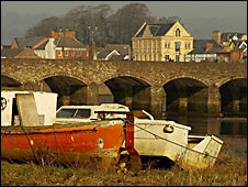 The Taw at Barnstaple