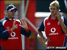 Allan Donald (left) and Stuart Broad