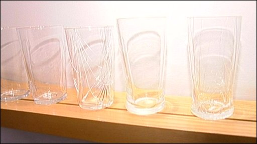 The new pint glass prototypes
