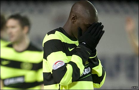 Marc-Antoine Fortune cannot believe Celtic have not scored against Kilmarnock