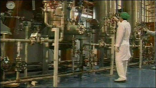 Iranian nuclear power facility