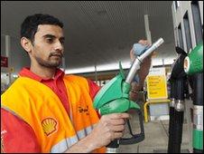Shell petrol attendant