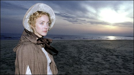 Lucy Davenport as Mary Shelley, from the tv drama/documentary Mary Shelley: The Birth of Frankenstein