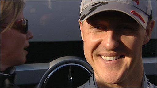 Formula 1 legend Michael Schumacher