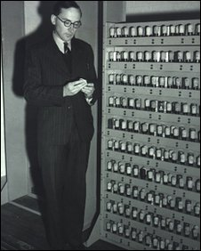Maurice Wilkes and Edsac, Mercury delay lines, Computer Lab/ University of Cambridge