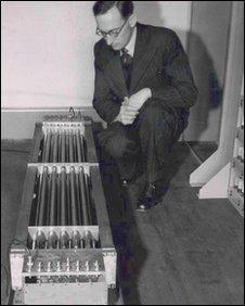 Mercury delay lines, Computer Lab/ University of Cambridge