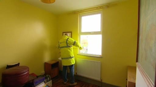 Inside of eco home