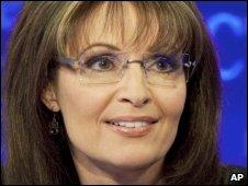 Former Alaskan governor Sarah Palin