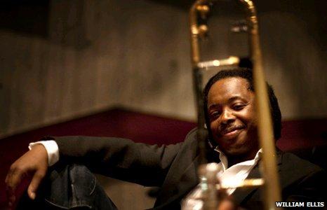 Jazz trombonist Dennis Rollins
