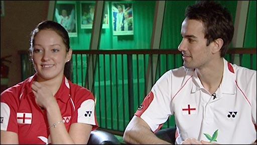 Jenny Wallwork and Nathan Robertson